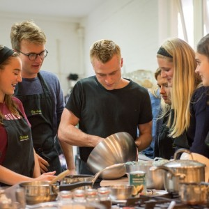 Chef Richard Horsford at the Avenue Cookery School