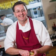Mark Peregrine is the head tutor at the Raymond Blanc Cookery School