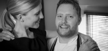 Food of love: Anton and Clare Piotrowski