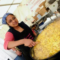 Corinne Goodman specialises in authentic Indian food