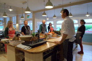 A community cookery class at Chequers Kitchen