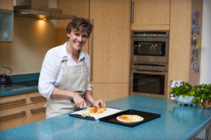 Jenny Thomson loves to cook with 'the fresh bountiful produce of Scotland.'