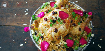 A chicken dish made at Dublin's Silk Road Cookery School