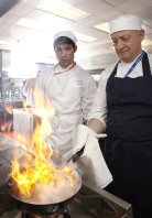 Learning the art of cookery at the Chef's Academy, Newcastle