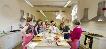 A Bake Off warms up at Seasoned Cookery School