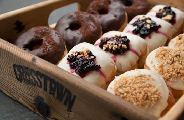 Holey spirit: Crosstown's designer doughnuts