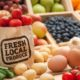 Home-grown seasonal food means fewer food miles and supports local economies