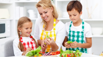 healthy children's cookery classes